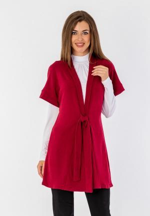 Жилет S&A Style. Цвет: красный