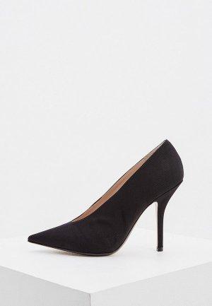 Туфли N21. Цвет: черный