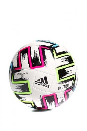 Мяч UNIFO CLB adidas. Цвет: белый