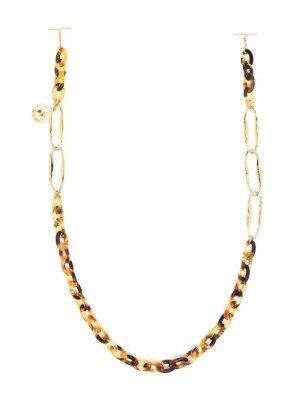 Цепочка для очков Chloé Eyewear. Цвет: коричневый