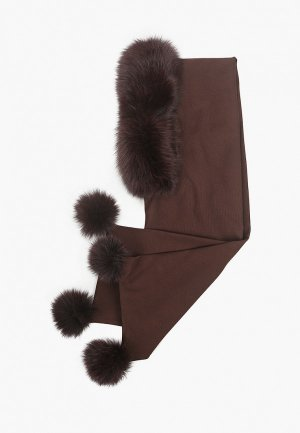 Капор Mex-Style. Цвет: коричневый