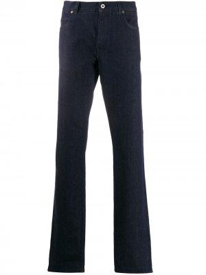 Расклешенные джинсы Salvatore Ferragamo. Цвет: синий