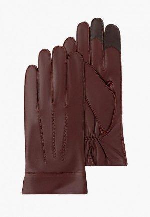 Перчатки Michel Katana. Цвет: бордовый