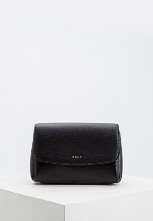 Сумка поясная DKNY PAIGE-BELT BAG-SUTTON. Цвет: черный