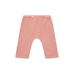 Хлопковые шорты Tartine Et Chocolat. Цвет: розовый