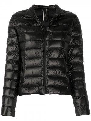 Куртка-пуховик на молнии Hogan. Цвет: черный