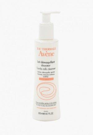 Молочко для лица Avene очищающее сухой и чувствительной кожи, 200 мл. Цвет: белый