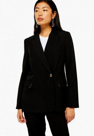 Пиджак Topshop. Цвет: черный