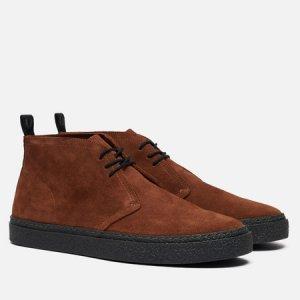 Мужские ботинки Hawley Suede Fred Perry. Цвет: коричневый