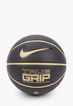 Мяч баскетбольный Nike TRUE GRIP OT 8P. Цвет: черный