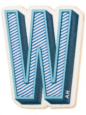 Стикер W Anya Hindmarch. Цвет: синий