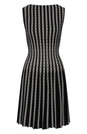 Платье Alaia. Цвет: черно-белый