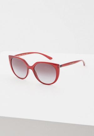 Очки солнцезащитные Dolce&Gabbana DG6119 15518G. Цвет: бордовый