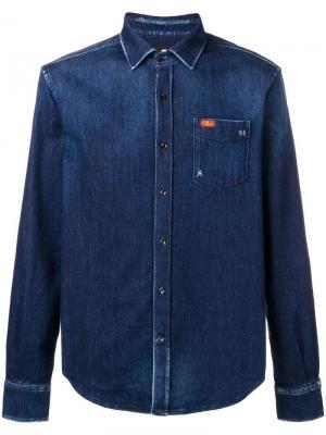 Джинсовая рубашка с нагрудным карманом 7 For All Mankind