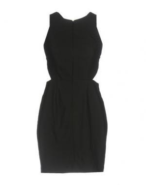 Короткое платье AQ/AQ. Цвет: черный