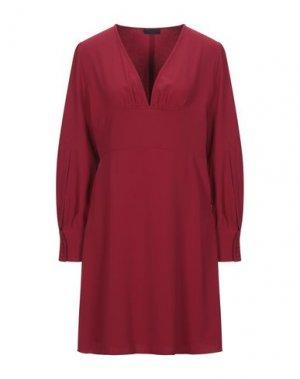 Короткое платье BLACK LABEL. Цвет: кирпично-красный