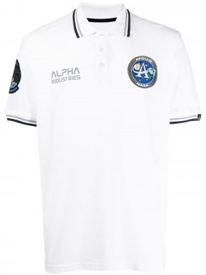 Рубака-поло Remove Before Flight Alpha Industries. Цвет: белый