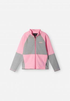 Кофта Mieti Розовая Reima. Цвет: розовый