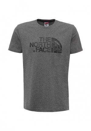 Футболка The North Face M SS WOODCU DOME TEE TNF ME GR HE. Цвет: серый