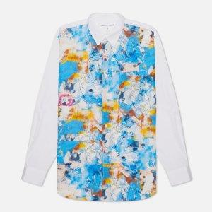 Мужская рубашка x Futura Print C Front Comme des Garcons SHIRT. Цвет: белый