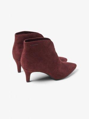 Обувь TOM TAILOR. Цвет: бордовый