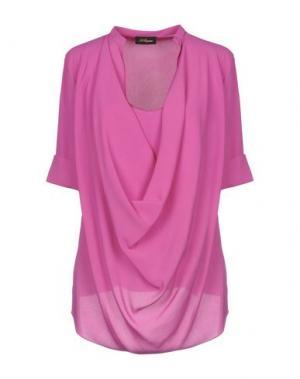 Блузка LES COPAINS. Цвет: светло-фиолетовый