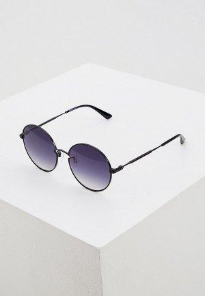 Очки солнцезащитные McQ Alexander McQueen MQ0267S 001. Цвет: черный