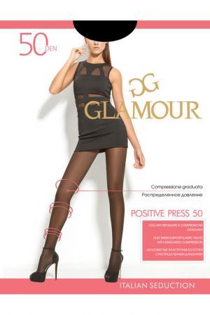 Колготки женские Glamour. Цвет: загар