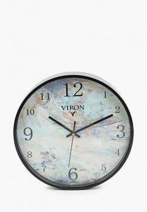 Часы настенные Viron. Цвет: голубой