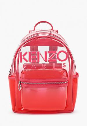 Рюкзак Kenzo. Цвет: коралловый