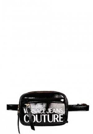 Поясная сумка VERSACE JEANS COUTURE. Цвет: черный