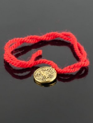 Браслет-оберег красная нить - овен бп9950 Бусики-Колечки