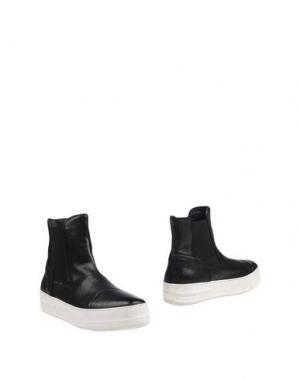 Полусапоги и высокие ботинки BRUNO BORDESE. Цвет: черный