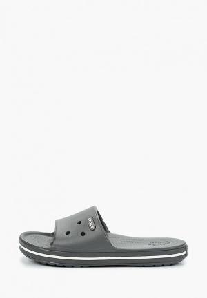 Сланцы Crocs. Цвет: серый
