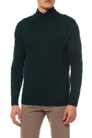 Свитер Mir cashmere. Цвет: темно-зеленый