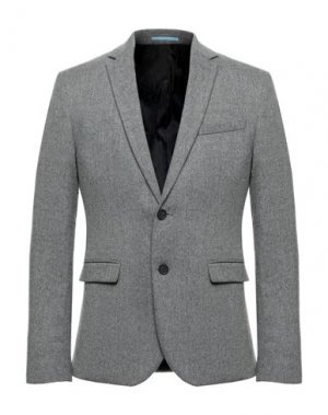 Пиджак EXTENDED by MINIMUM. Цвет: светло-серый