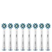 Сменные насадки для зубной щетки Oral-B Cross Action Replacement Toothbrush Heads (8 штук в упаковке)