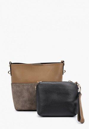 Комплект Elsi. Цвет: коричневый