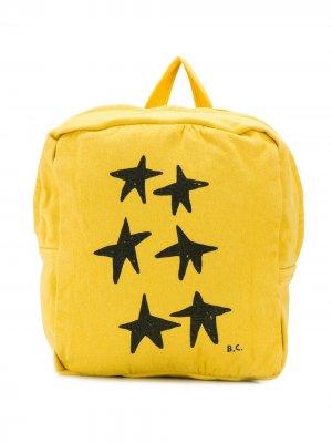 Рюкзак с принтом Bobo Choses. Цвет: желтый