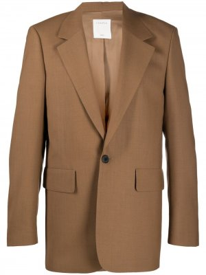 Пиджак Tabacco Sandro Paris. Цвет: коричневый