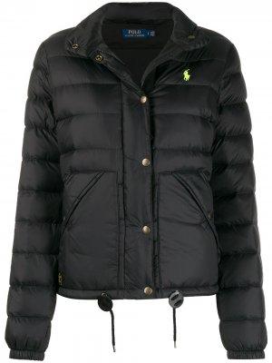 Куртка-бомбер Polo Ralph Lauren. Цвет: черный