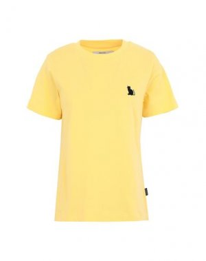 Футболка DEDICATED.. Цвет: желтый