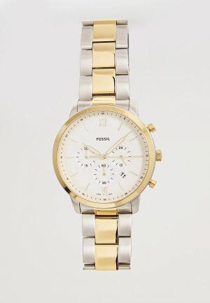 Часы Fossil FS5385. Цвет: серебряный