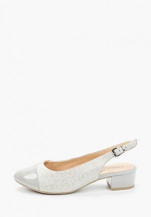 Туфли Caprice полнота H. Цвет: серый