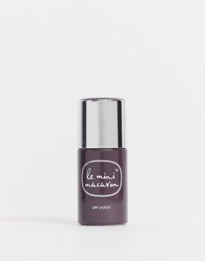Гелевый лак для ногтей (Crème De Chocolat)-Коричневый цвет Le Mini Macaron