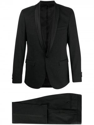 Костюм с однобортным пиджаком узкого кроя Karl Lagerfeld