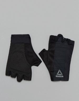 Черные перчатки Training BK6288 Reebok. Цвет: черный