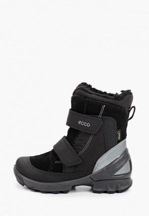 Ботинки Ecco BIOM HIKE INFANT. Цвет: черный