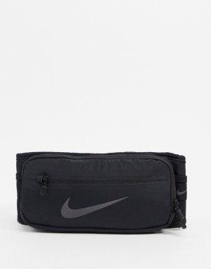Черный кошелек на пояс Running-Черный цвет Nike