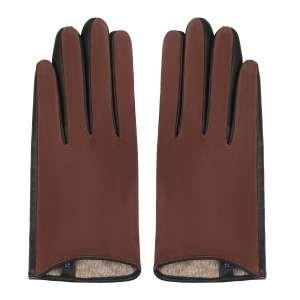 Перчатки Ekonika EN33358-brown-black-21Z. Цвет: коричневый/черный
